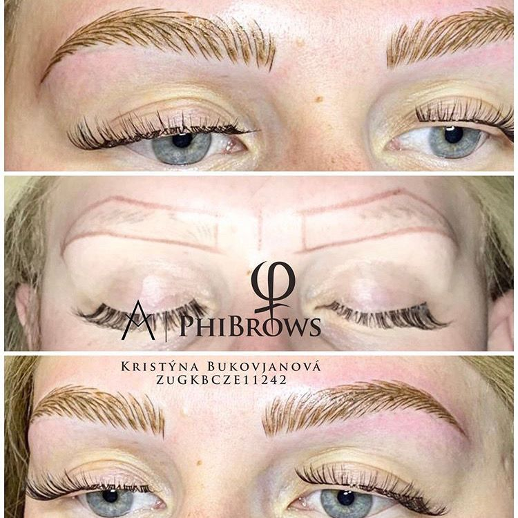 microblading - phibrows - oboci - uprava oboci - beauty guru - praha 2 - kosmetika - beauty salon