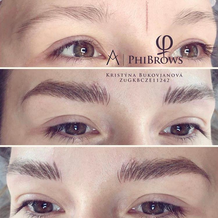 microblading - phibrows - oboci - uprava oboci - beauty guru - praha 2 - kosmetika - beauty salon